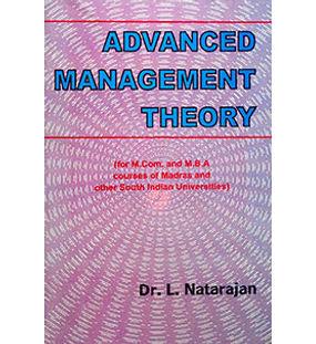 Advanced Management Theory