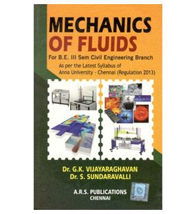 Mechanics Of Fluids | Dr.G.K.Vijayaraghavan