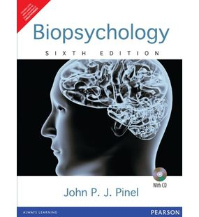 Biopsychology (With Beyond the Brain and Behavior CD-ROM) (With CD) (English) 6th Edition by Pinel