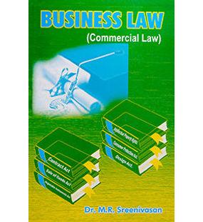 Business Law (Commercial Law) | Dr. M.R. Sreenivasan