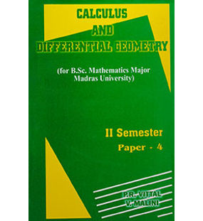 Calculus and Differential Geometry
