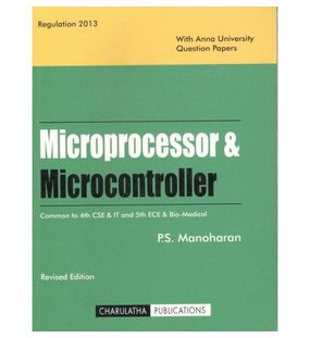 Microprocessor And Microcontroller | P.S.Manoharan