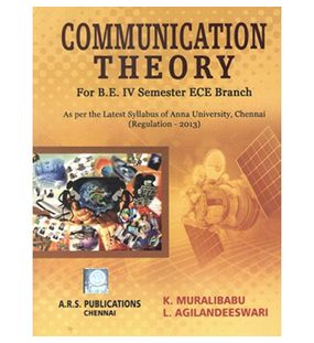 Communication Theory | K.Muralibabu L.Agilandeswari