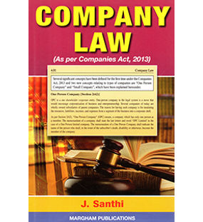 Company law (As per Companies Act, 2013)