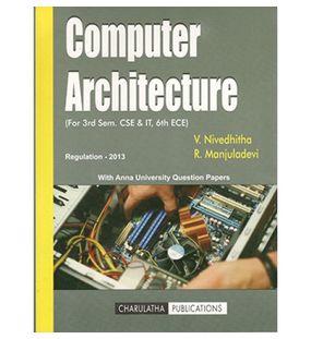 Computer Architecture | V.Nivedhitha, R.Manjuladevi