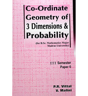 Co-ordinate Geometry of 3 Dimensions & Probability
