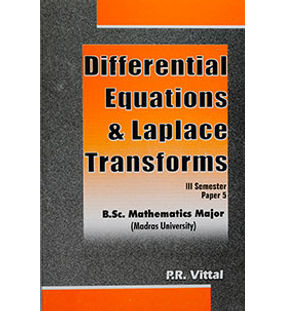 Differential Equations & Laplace Transforms - III Semester