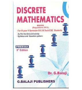 Discrete Mathematics   G. Balaji