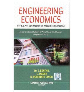 Engineering Economics | Dr.S.Senthil, L.Madam, N. Robindro singh