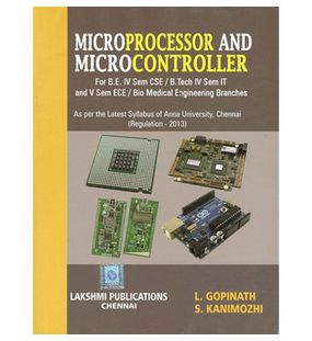 Microprocessor and Microcontroller | L.Gopinath , S.Kanimozhi