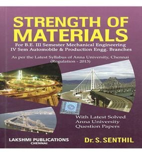 Strength Of Materials | Dr.P.Senthil