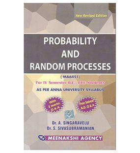 Probability And Random Process | Singaravelu
