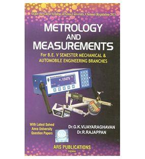 Metrology And Measurements | Vijayaraghavan