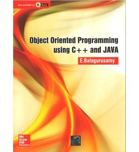 Object Oriented Programming Using C++ and Java | Balagurusamy