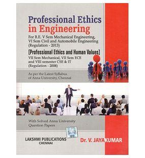 Professional Ethics In Engineering | Jayakumar