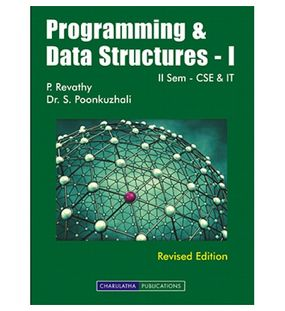 Programming And Data Structures - I | P.Revathy,S.Poonkuzhali