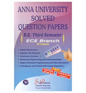 Anna University Solved Question Papers - ECE 3rd Sem
