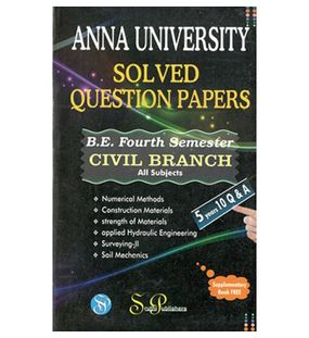 Anna University Solved Question Papers - Civil 4th Sem