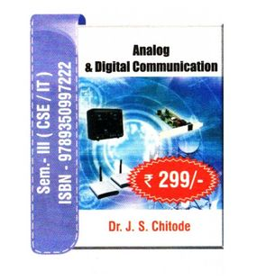 Analog and Digital Communication | J.S.Chitode