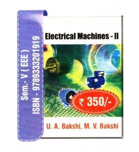 Electrical Machines 2 | U.A.Bakshi,M.V.Bakshi