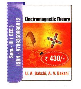 Electromagnetic Theory   A.V.Bakshi,U.A.Bakshi