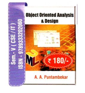 Object Oriented Analysis and Design |A.A.Puntambekar