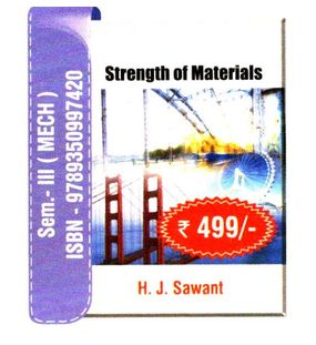 Strength of Materials | H.J.Sawant