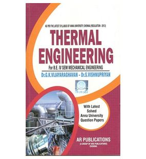 Thermal Engineering | Dr.G.K.Vijayaraghavan
