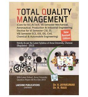 Total Quality Management | Dr.Jayakumar
