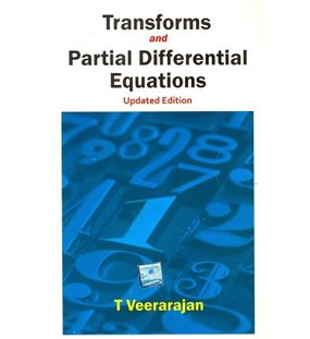 Transforms and Partial Differential Equations | Veerarajan