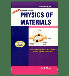 Physics Of Materials | Mani