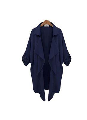 Blue Soli Coat - KP001413