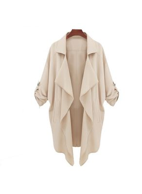 Khaki Solid Coat -KP001414