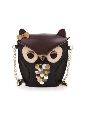 Owl Shape Designer Sling Bag