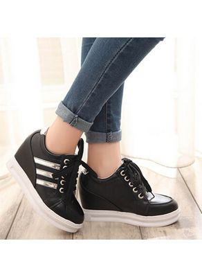 New 2015 Trendy wedge sneakers