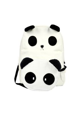 Cute Panda Backpack + Sling Bag