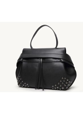 Rivet Decorated  Handbag - KP001466