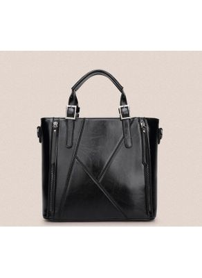 Zipper Design PU Handbag - KP001474
