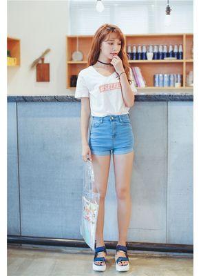 Sweet Blue Shorts - KP001632