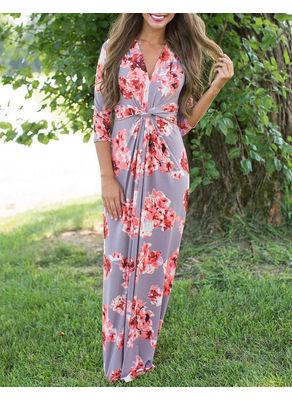 Floral Maxi Dress - KP001891