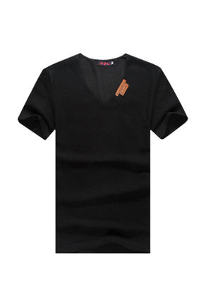 V- Neck Regular T-shirt - KP001913