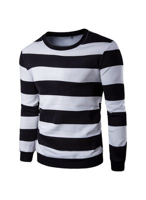 Stripped Long Sleeve Tee - KP001921