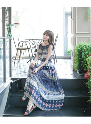 Cute Printed Maxi - KP001989