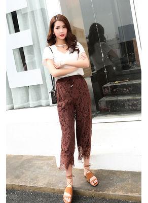 Lace Ninth Pants - KP002188