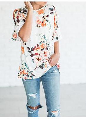 Floral T-shirt - KP002283