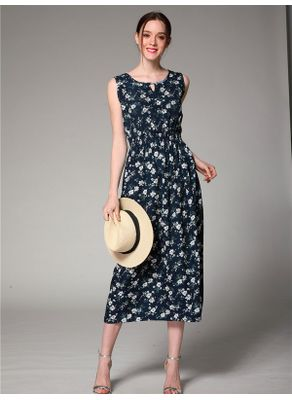 Floral Chiffon Dress - KP002330
