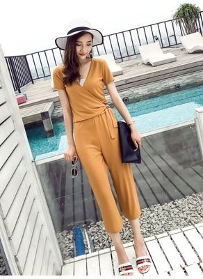 V-Neck Top + Pants - KP002372