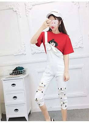 T-shirt + Overalls - KP002373