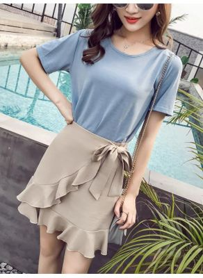 T-shirt + Skirt - KP002374
