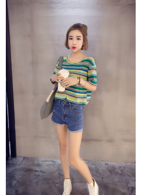 Cute Stripe Tee - KP002510